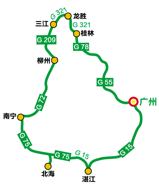 桂林自驾游最佳路线