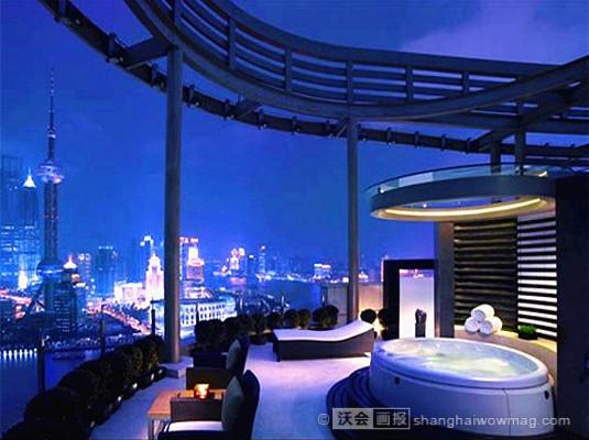 盘点沪上那些可以看风景的酒店浴缸