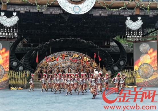 丰收时的西江,歌舞与美食不可少156.png